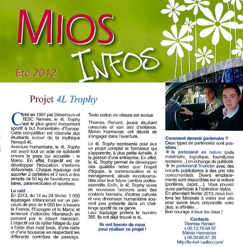 Revue de presse la 4x4 l for Revue de www houseplans com
